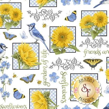 My Sunflower Garden 1379-7 by Henry Glass Fabrics