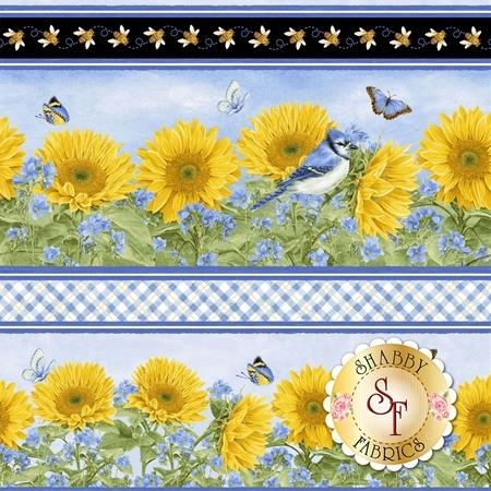 My Sunflower Garden 1380-74 by Henry Glass Fabrics
