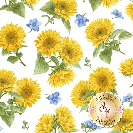 My Sunflower Garden 1381-7 by Henry Glass Fabrics