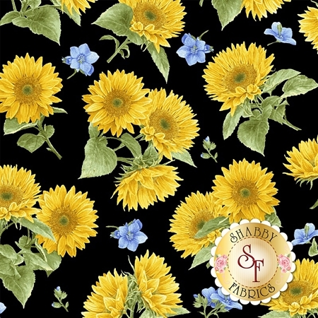 My Sunflower Garden 1381-99 by Henry Glass Fabrics