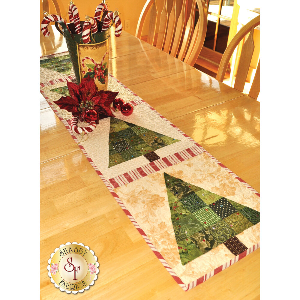 Patchwork Christmas Tree Table Runner Kit