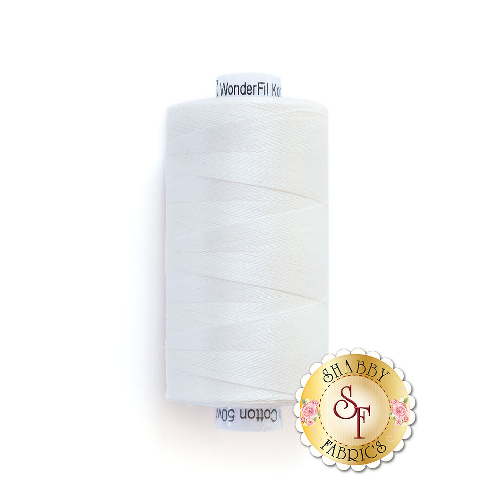 Spool of Konfetti Thread KT101 Off White | Shabby Fabrics