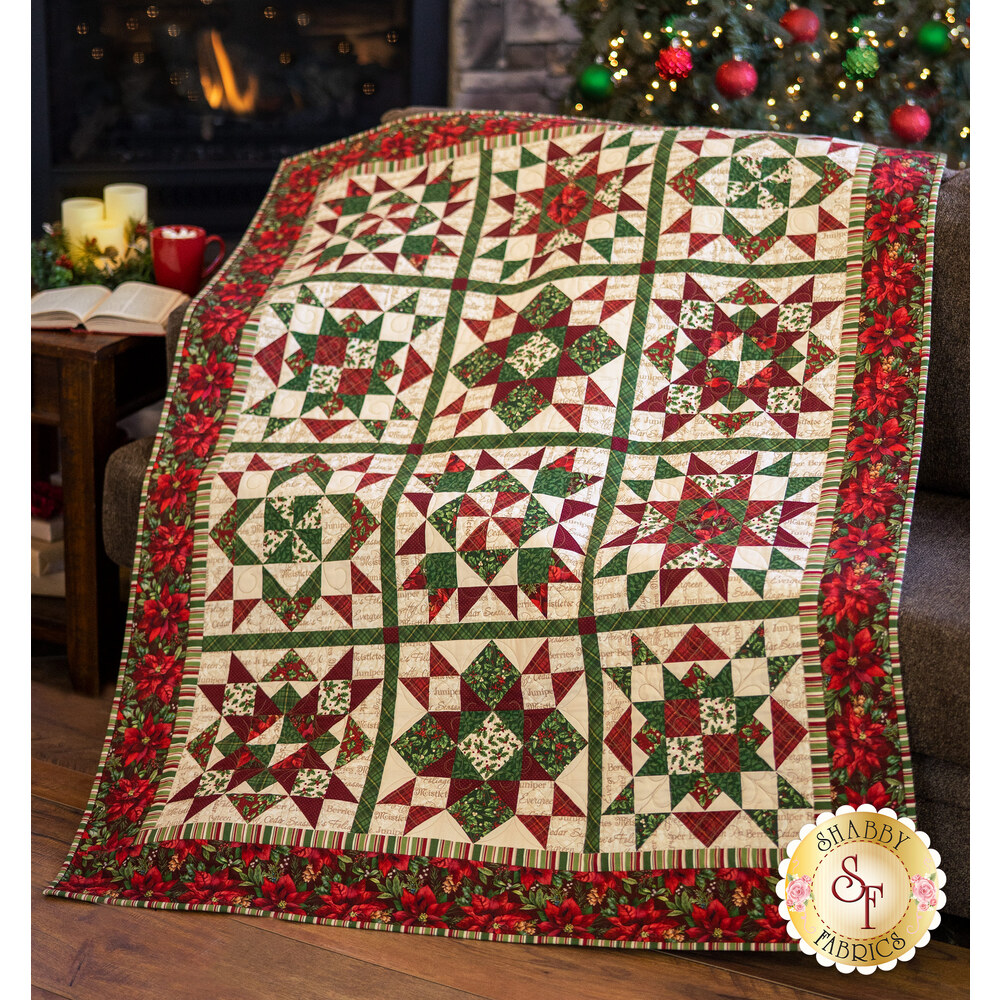 Old Time Christmas Patchwork BOM