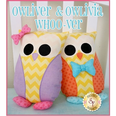 Owliver & Owlivia Whoo-ver Pillow Pattern