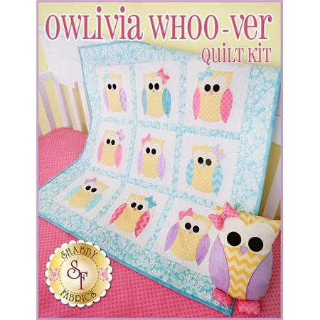 Owlivia Whoo-ver Quilt Kit