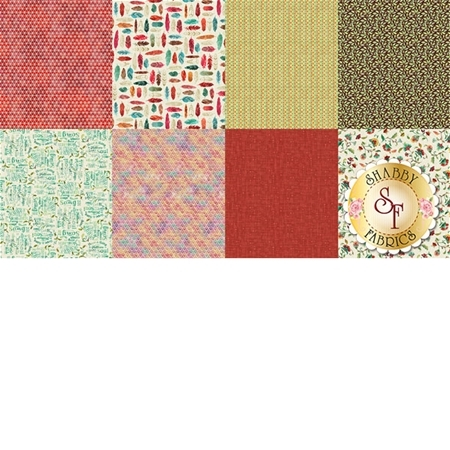 All A Twitter P4391-219-Carnation Panel by Hoffman Fabrics