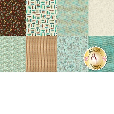 All A Twitter P4392-227-Sprout Panel by Hoffman Fabrics