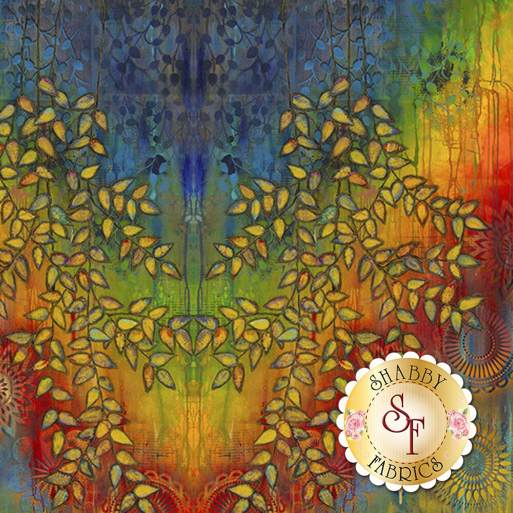 Garden Bright PESP001-Multi by Free Spirit Fabrics available at Shabby Fabrics
