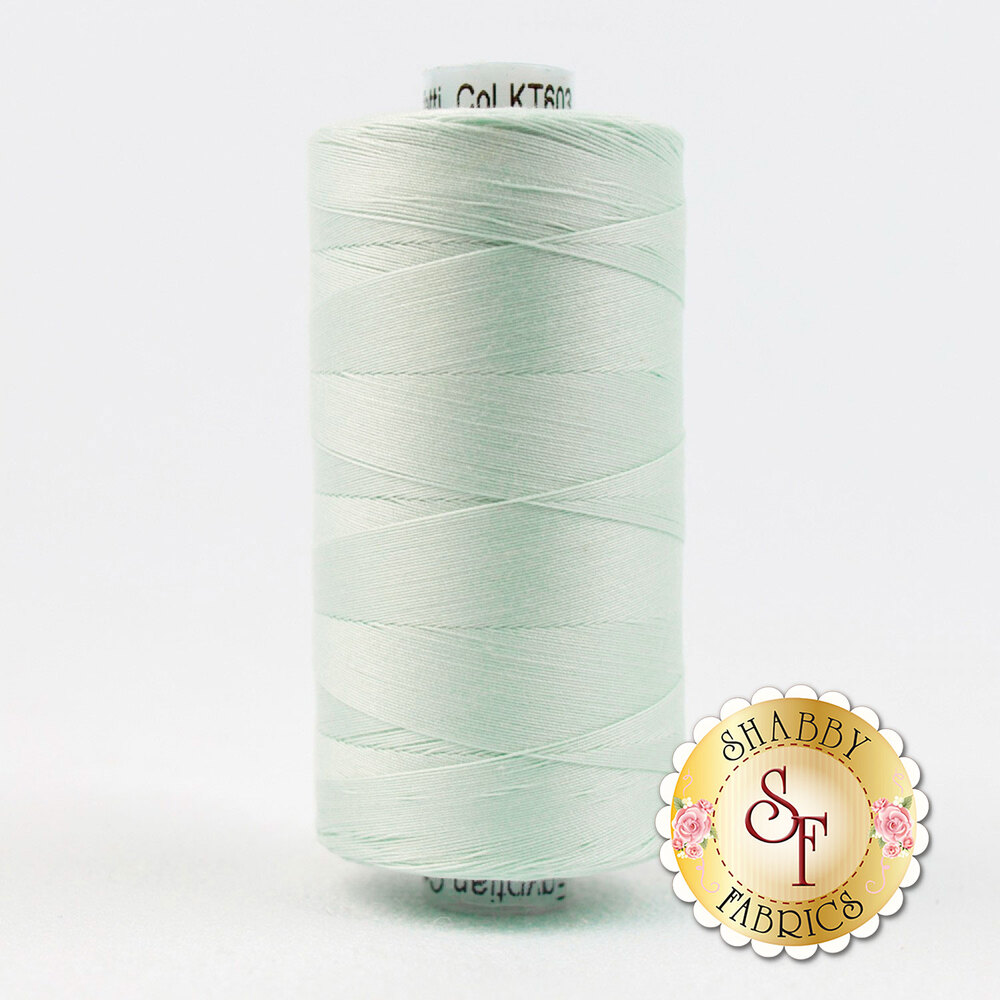Spool of Konfetti KT603 Pale Blue thread | Shabby Fabrics