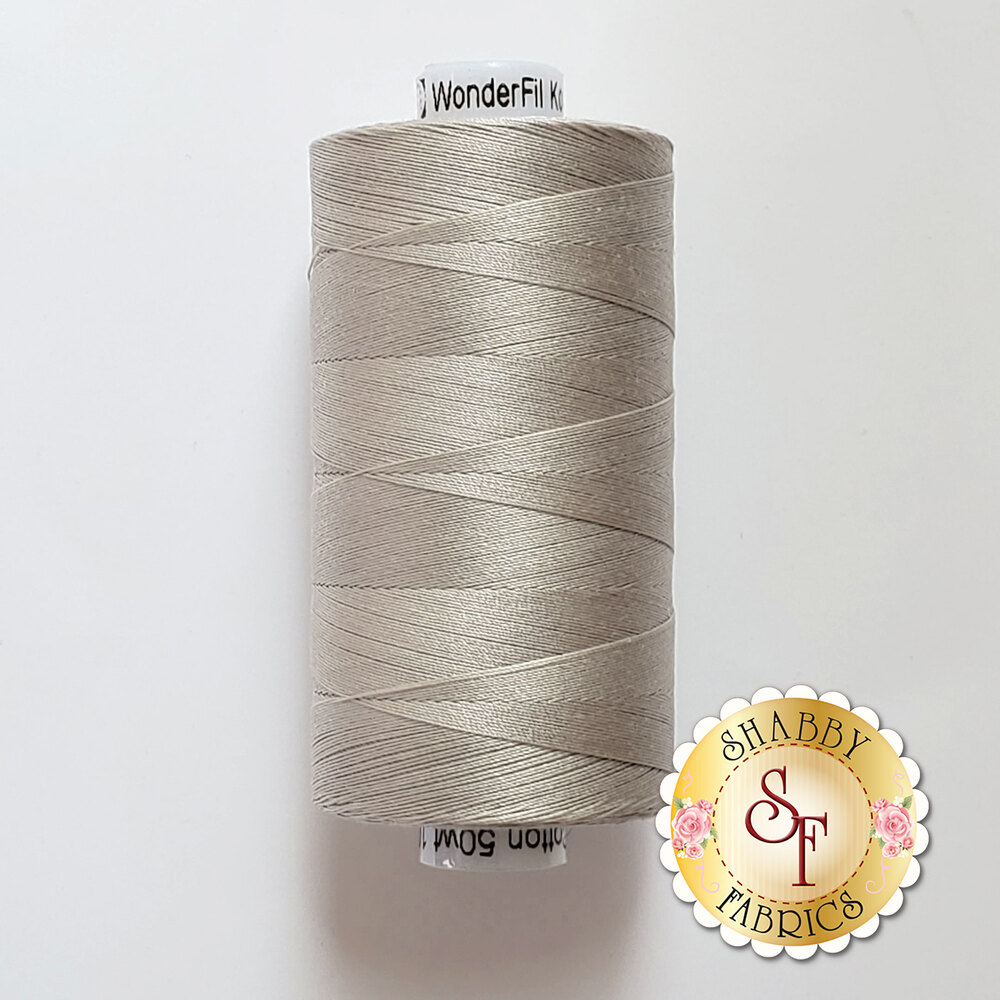 Konfetti Thread KT906 Pale Grey - 1000m | Shabby Fabrics