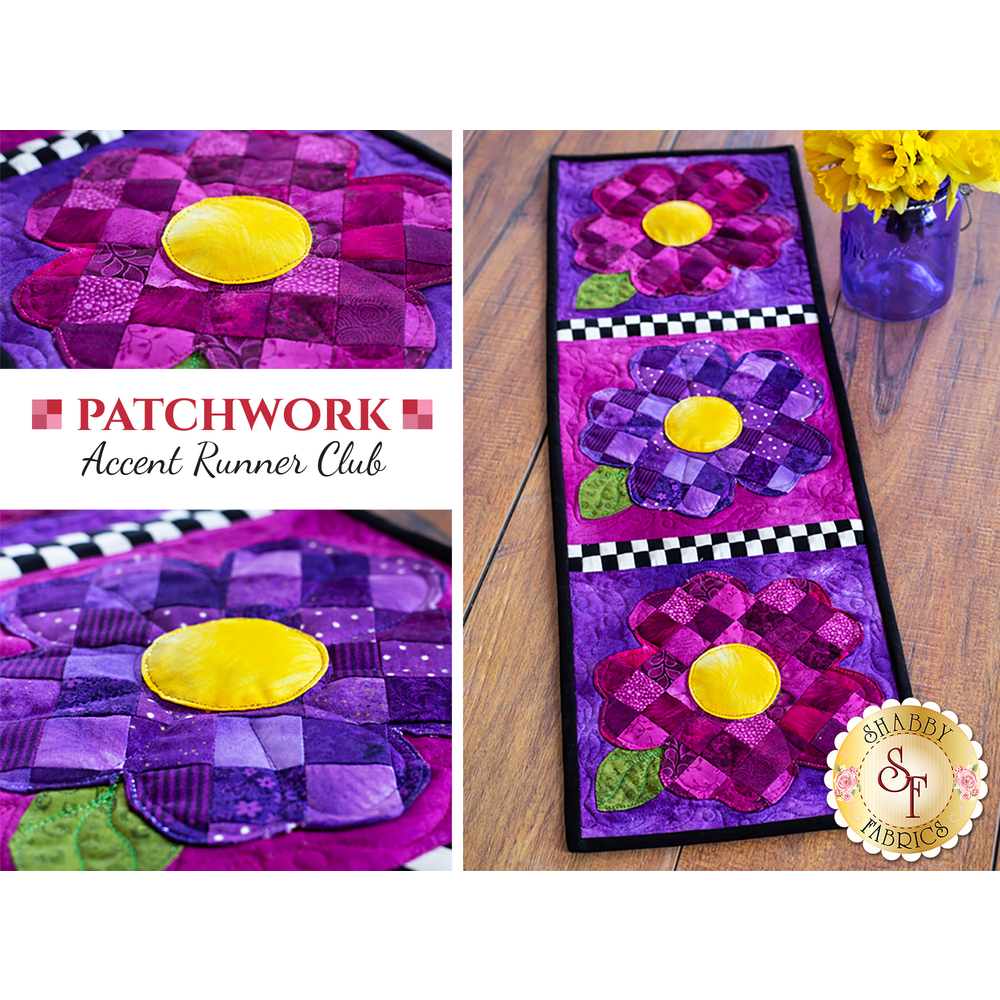 Patchwork Accent Runner Club