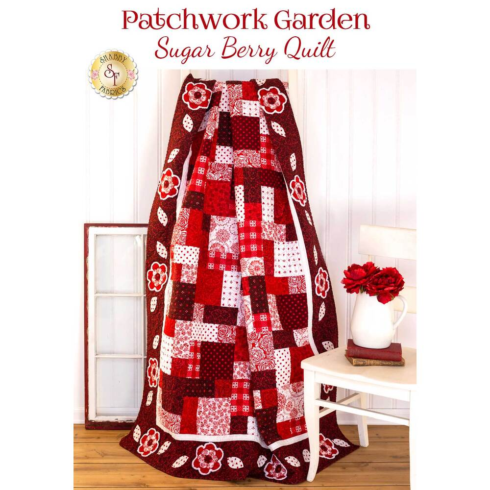 Patchwork Garden Quilt Kit - Sugar Berry