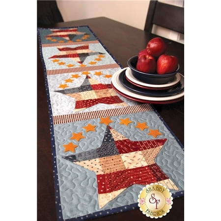 Patchwork Patriotic Table Runner Kit