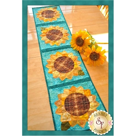 Patchwork Sunflower Table Runner Pattern