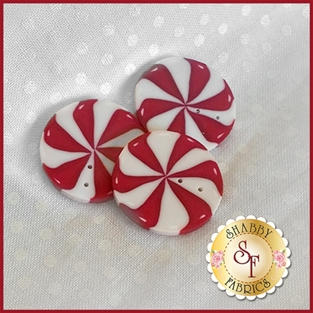 Peppermint Button Pack