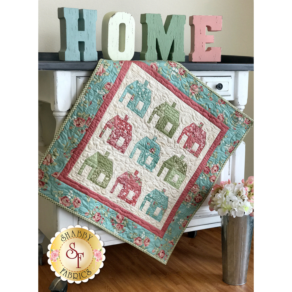 Perfect Patchwork Schoolhouse Wall Hanging Kit