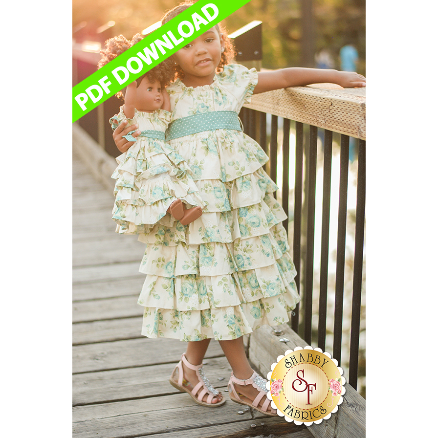 Dolly & Me Petticoat Dress - PDF DOWNLOAD