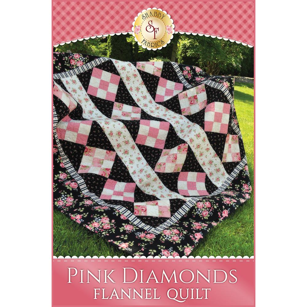 Pink Diamonds Flannel Pattern