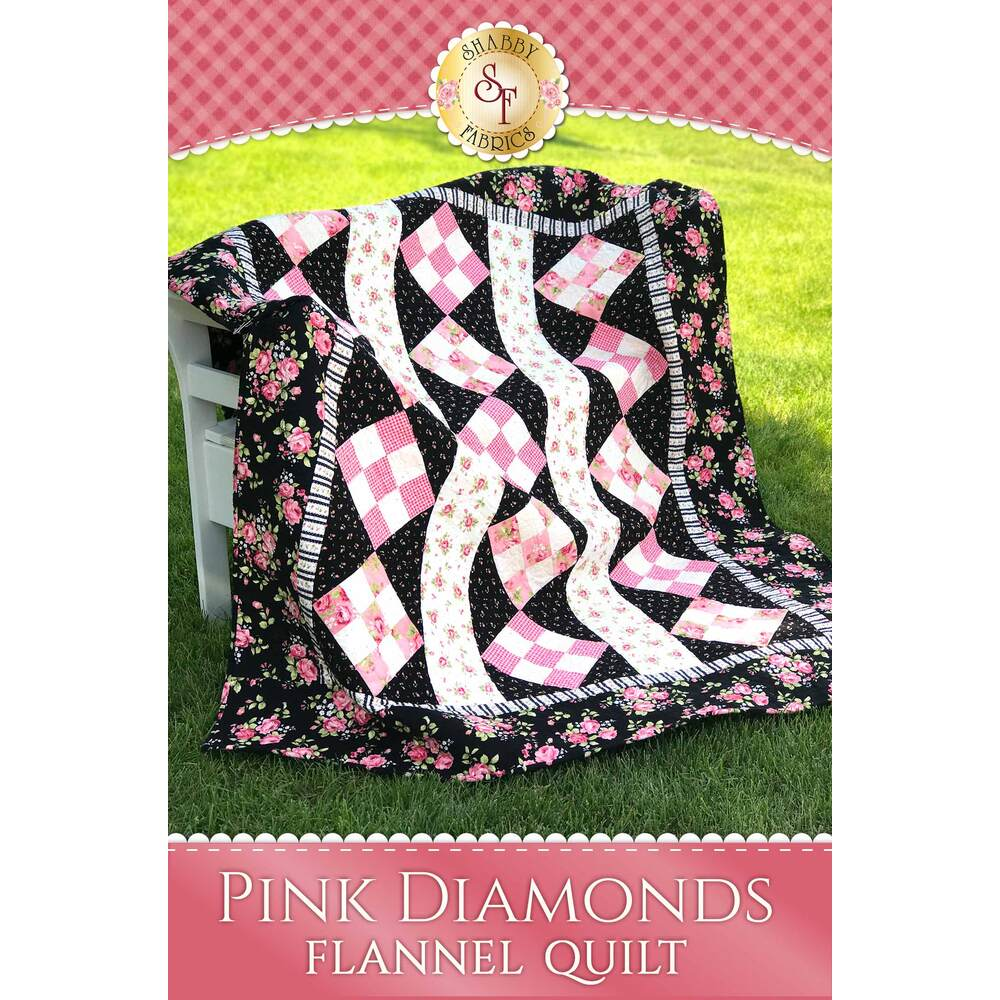 Pink Diamonds Flannel Pattern