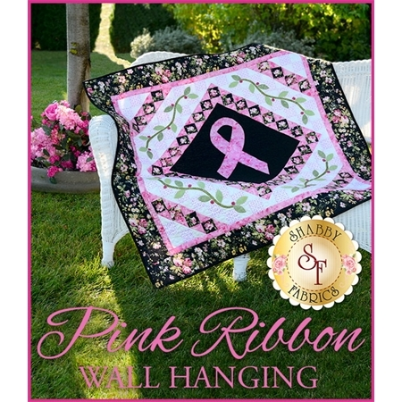 Pink Ribbon Quilt Pattern