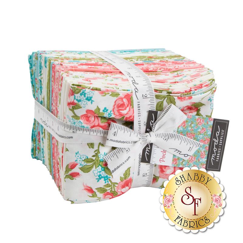 Pocketful of Posies 33 FQ set   Shabby Fabrics