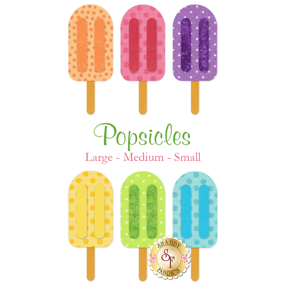 Laser-Cut Popsicles - 3 Sizes Available!
