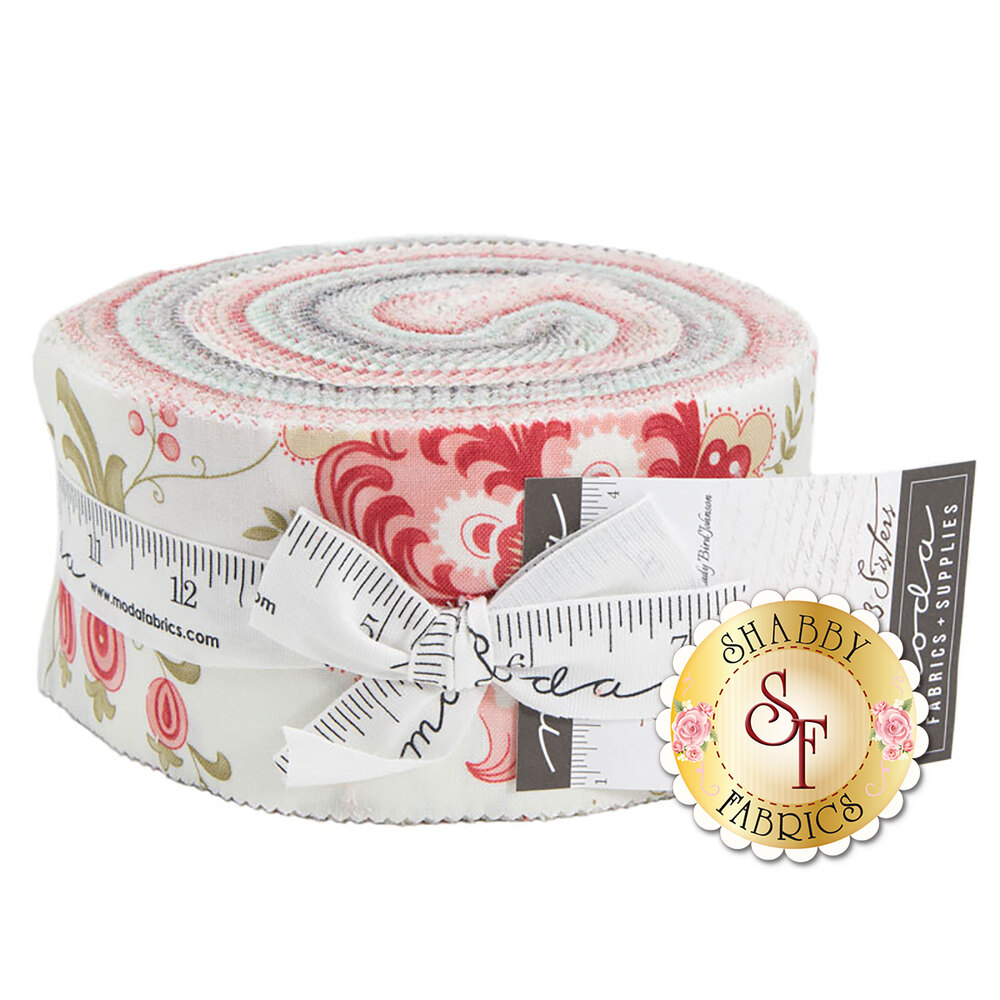 Porcelain  Jelly Roll by 3 Sisters for Moda Fabrics