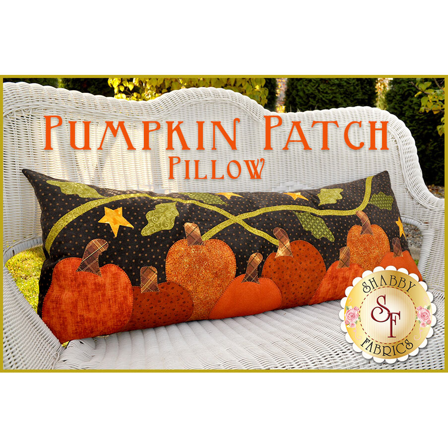 The Pumpkin Patch Pillow - Pre-fused & Laser-Cut Kit
