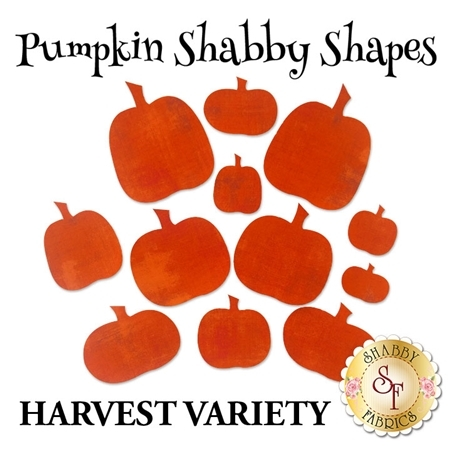Laser-Cut Pumpkin Set - Harvest Variety Pack