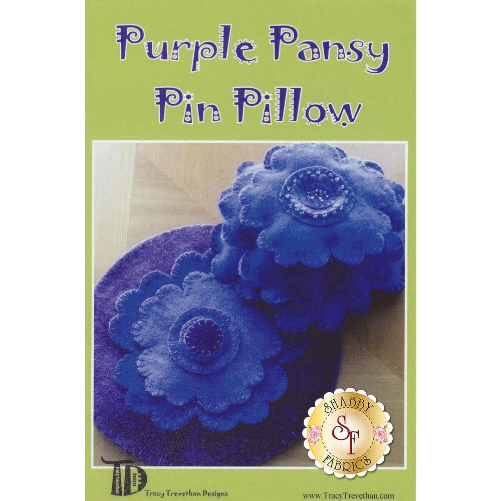 Purple Pansy Pin Pillow Pattern