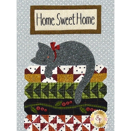 Purrfectly Pieced Part 4 - Home Sweet Home Pattern