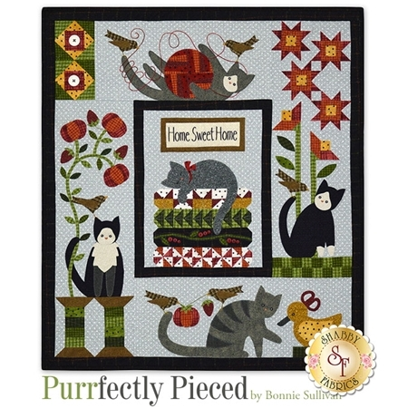 Purrfectly Pieced - Set of 5 Patterns