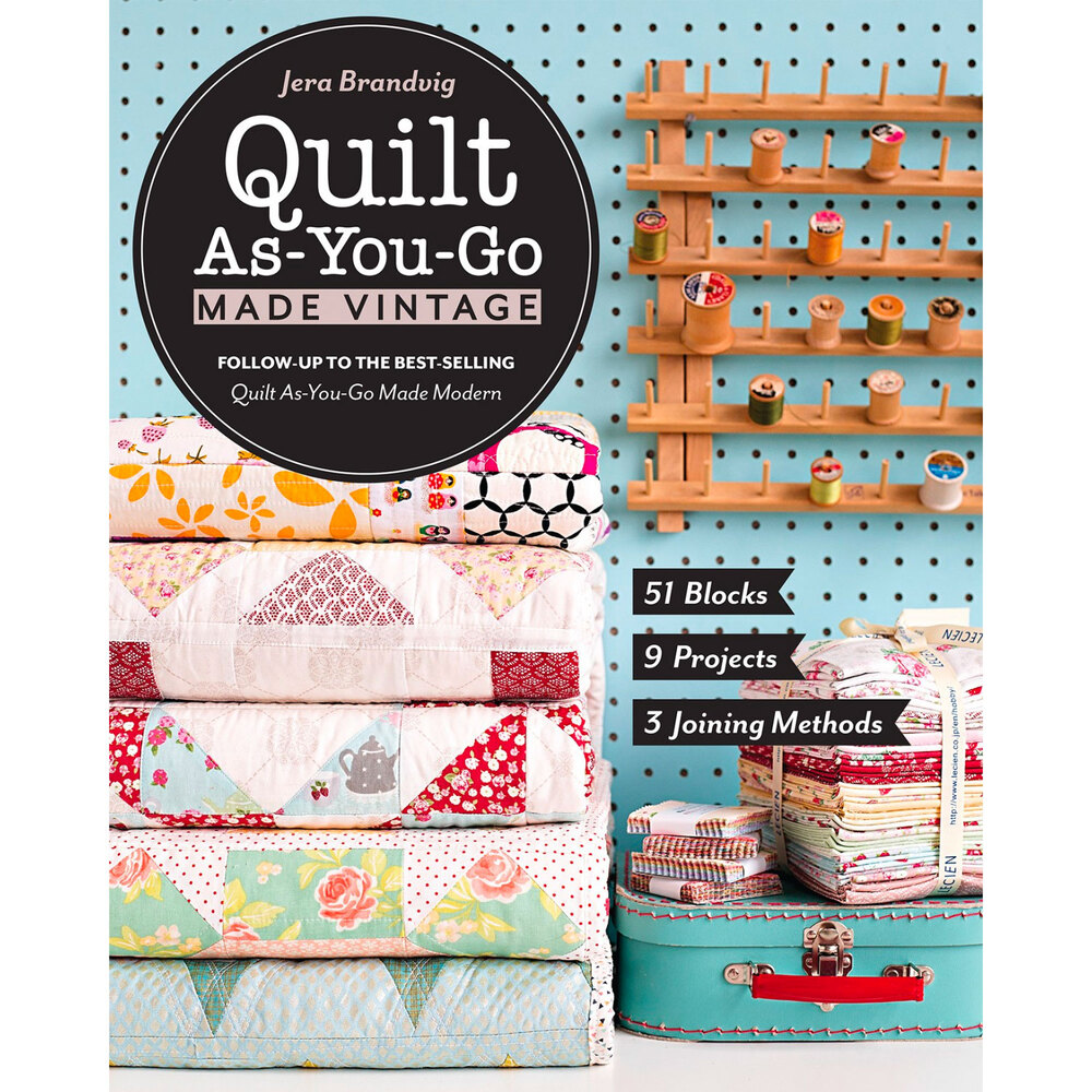 Quilt As You Go Made Vintage Book