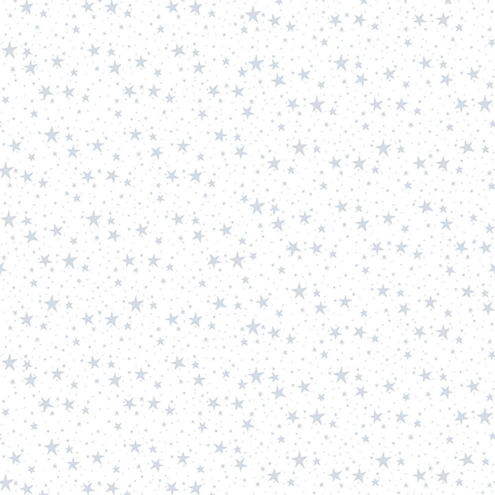 A white on white fabric with dotted pinwheel patterns | Shabby Fabrics