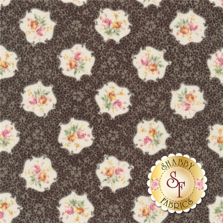 RURU Bouquet RU2200-15F By Quilt Gate Fabrics