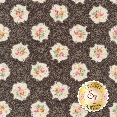 RURU Bouquet RU2200-15F By Quilt Gate Fabrics REM