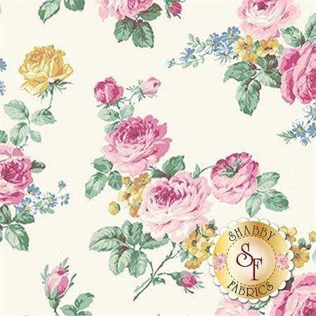 Ruru Bouquet Sweet Rose RU2330-11A by Quilt Gate Fabrics