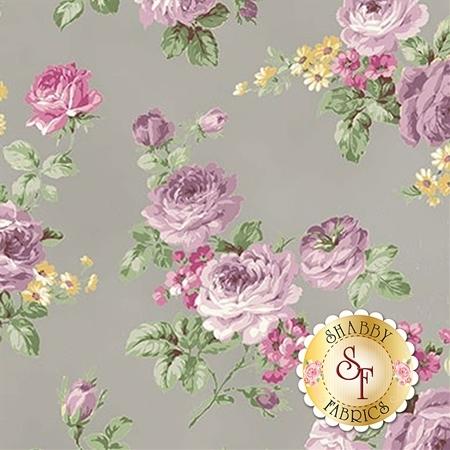 Ruru Bouquet Sweet Rose RU2330-11E by Quilt Gate Fabrics