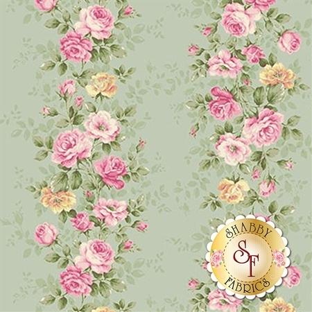 Ruru Bouquet Sweet Rose RU2330-12C by Quilt Gate Fabrics