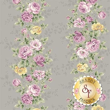 Ruru Bouquet Sweet Rose RU2330-12E by Quilt Gate Fabrics