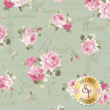 Ruru Bouquet Sweet Rose RU2330-13C by Quilt Gate Fabrics