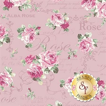 Ruru Bouquet Sweet Rose RU2330-13D by Quilt Gate Fabrics