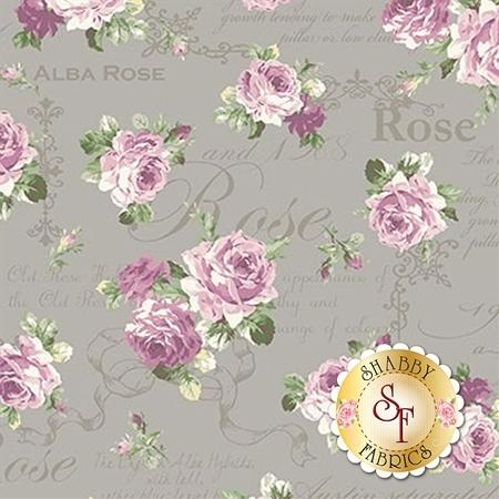 Ruru Bouquet Sweet Rose RU2330-13E by Quilt Gate Fabrics