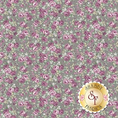 Ruru Bouquet Sweet Rose RU2330-14E by Quilt Gate Fabrics