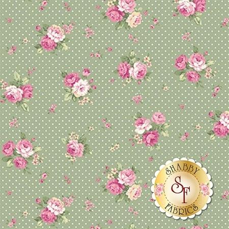Ruru Bouquet Sweet Rose RU2330-15C by Quilt Gate Fabrics