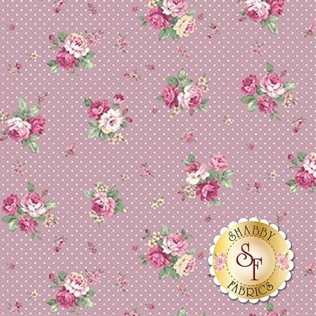 Ruru Bouquet Sweet Rose RU2330-15D by Quilt Gate Fabrics