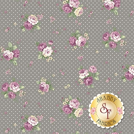Ruru Bouquet Sweet Rose RU2330-15E by Quilt Gate Fabrics