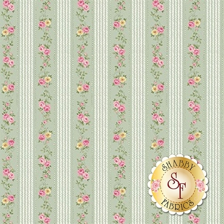 Ruru Bouquet Sweet Rose RU2330-16C by Quilt Gate Fabrics
