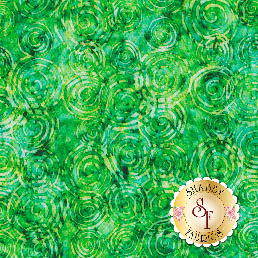 Radiance 27099-G Green by Quilting Treasures Fabrics available at Shabby Fabrics