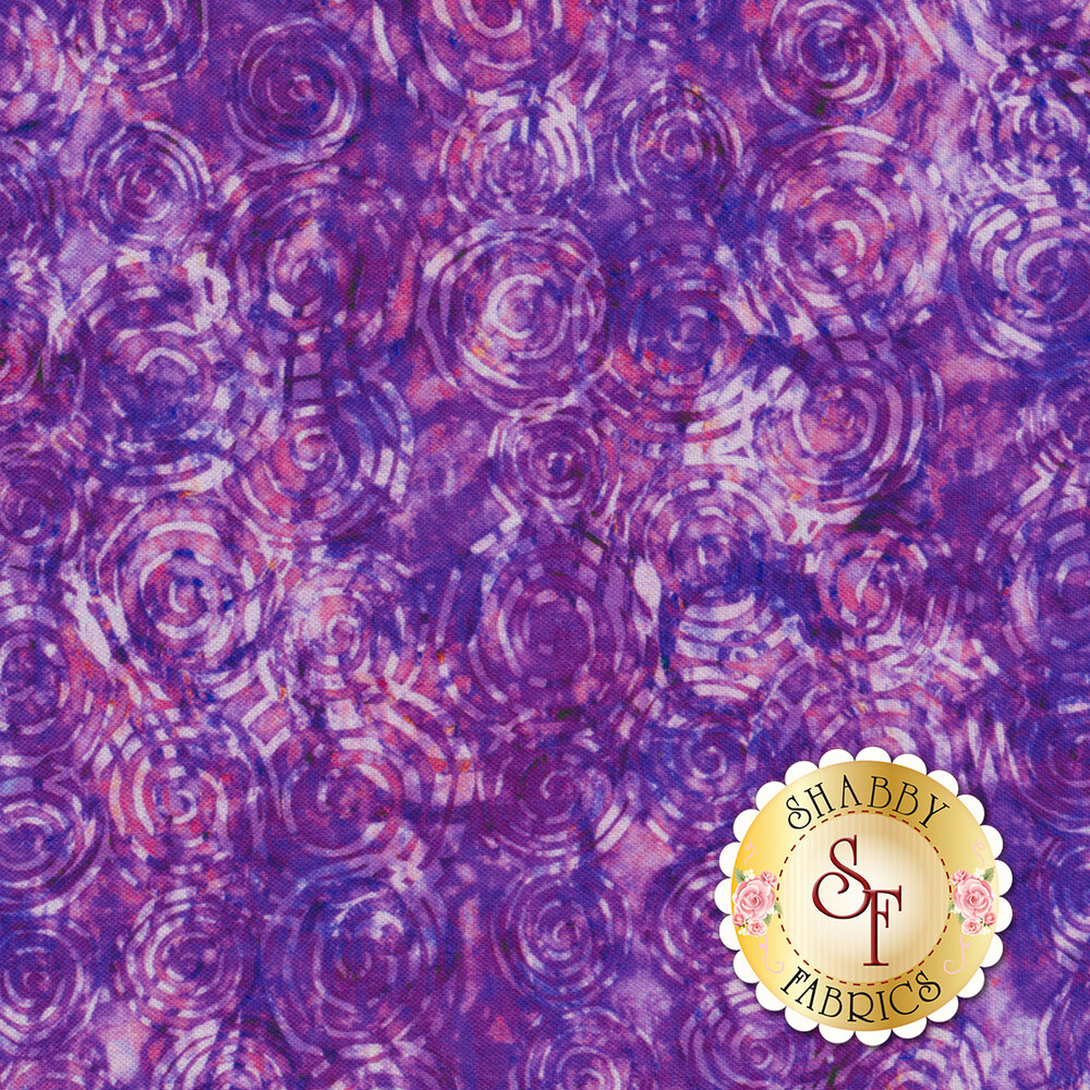 Radiance 27099-V Purple by Quilting Treasures Fabrics available at Shabby Fabrics